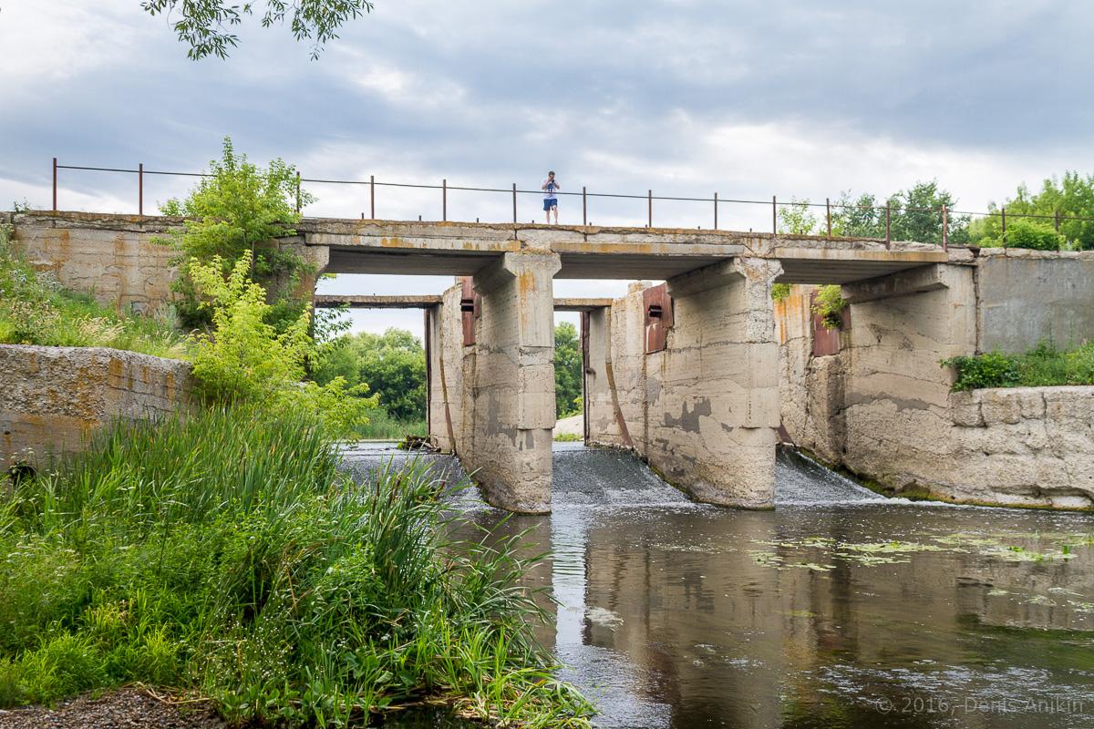 Калининск река Баланда плотина фото 10