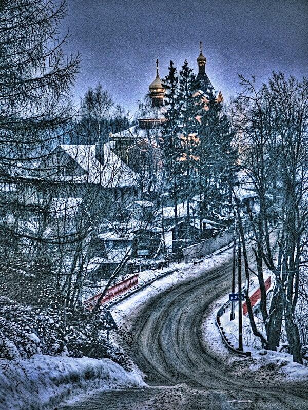 Дорога на Федоскино