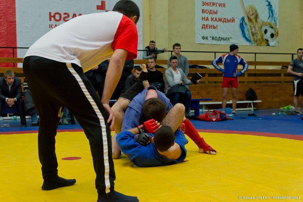 Соревнования по боевому самбо / Калач-на-Дону