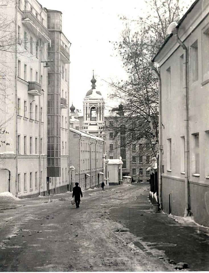 Подкопаевский переулок.А Рубинин