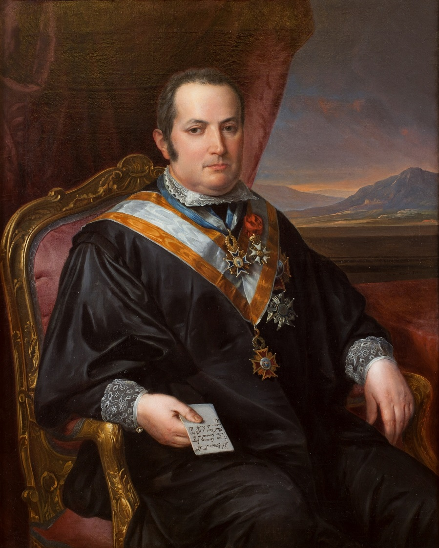 Tomás Cortina, consultor general de la Casa Real y Patrimonio (музей Прадо)