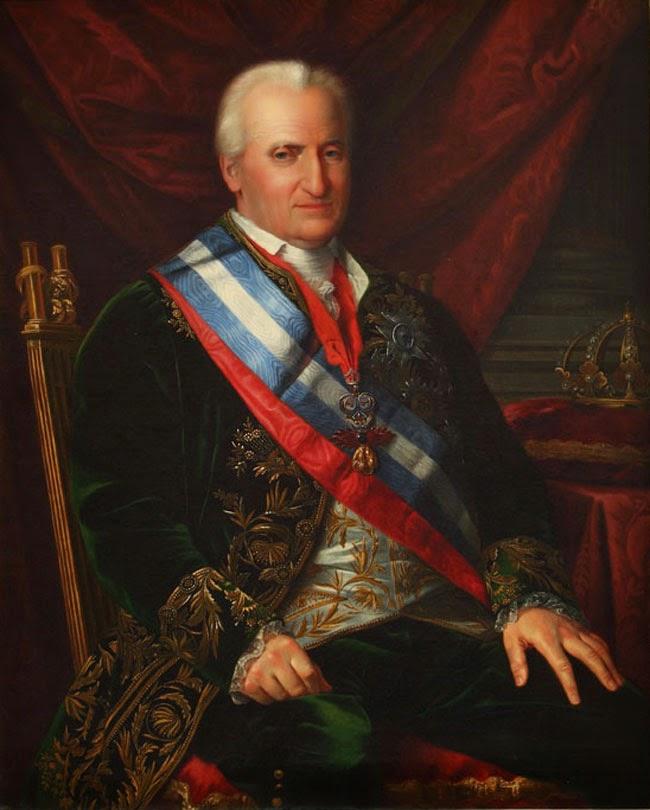 José de Madrazo. Carlos IV, rey padre. Hacia 1825.jpg
