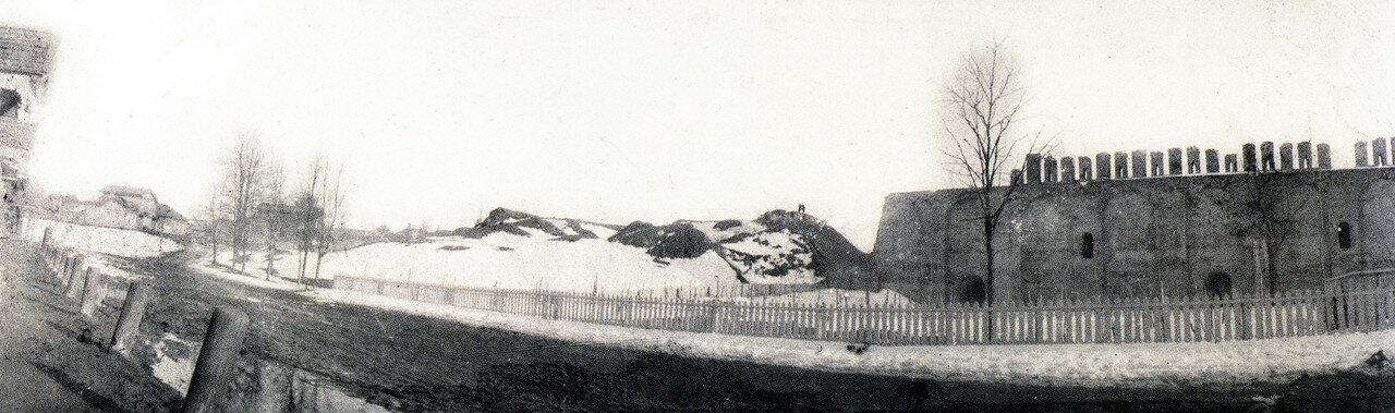 Шеинов бастион, Сосновский сад и Авраамиевская улица. 1902