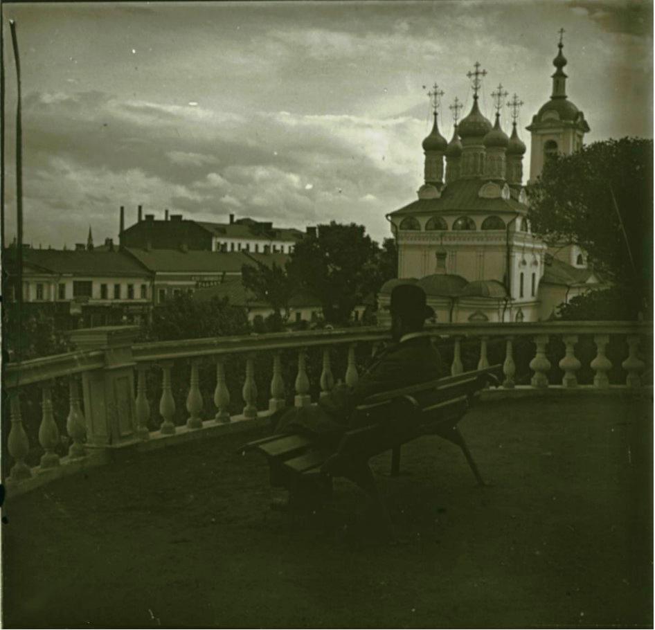 03. Вид с террасы Румянцевского музея
