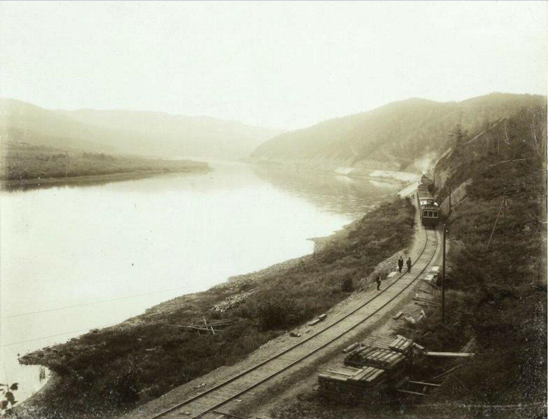 1890-е. Забайкальская железная дорога