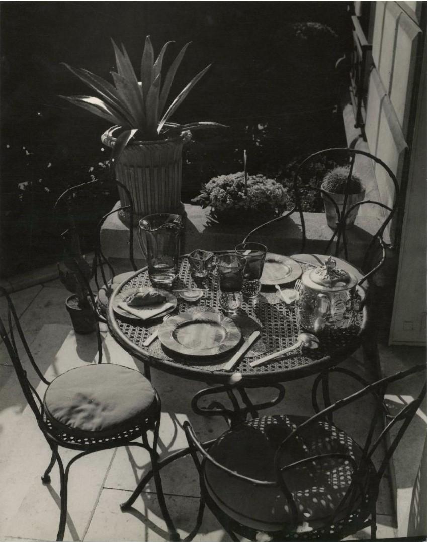1950. Интерьер квартиры коллекционера. Улица Фобур Сен-Жак, 81