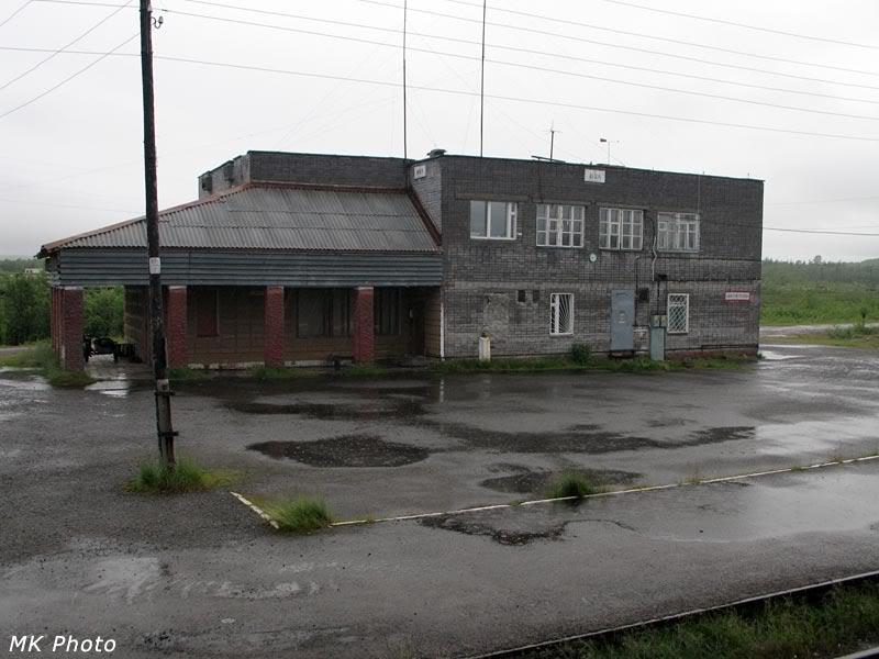 Вокзал Нял