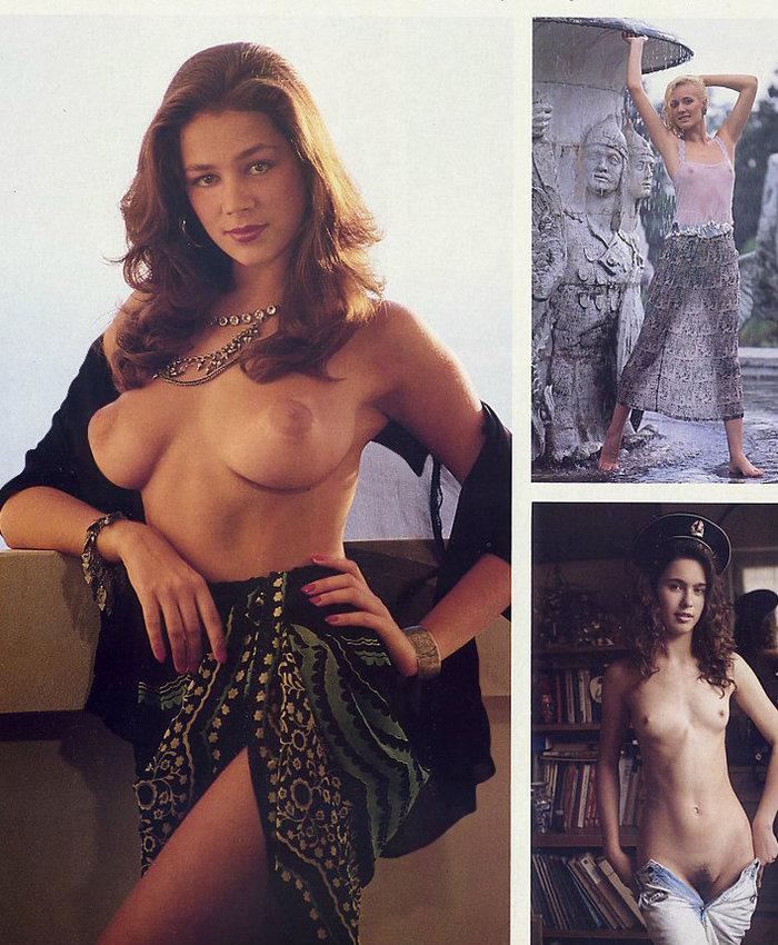 Русские девушки в журнале Playboy 1990 года