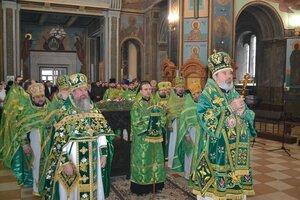 Prăznuirea sfântului cuvios Marchel în catedrala episcopală