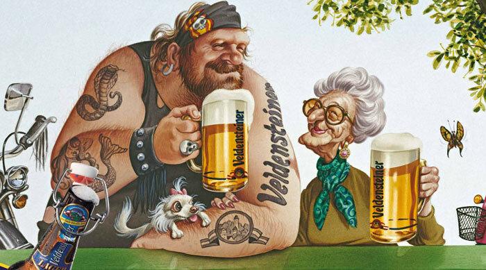 Лет, прикольные рисунки с пивом