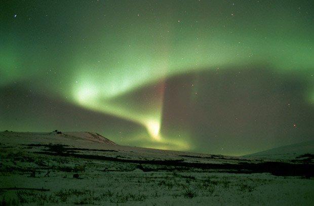 21 мая День Полярника. Северное сияние