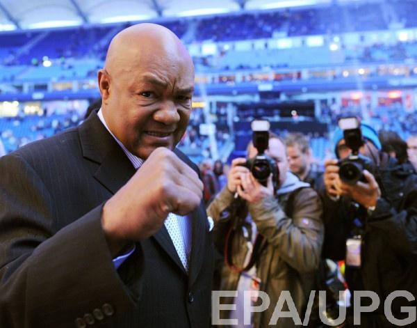 Форман: «Весь мир желает  боя Кличко— Джошуа»