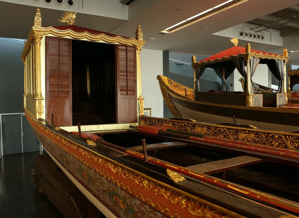 Stambul. Maritime museum. The Imperial galleys