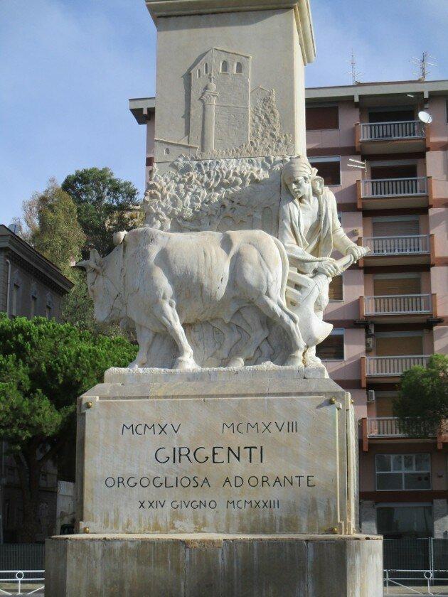 Agrigento. Villa Bonfiglio Park)