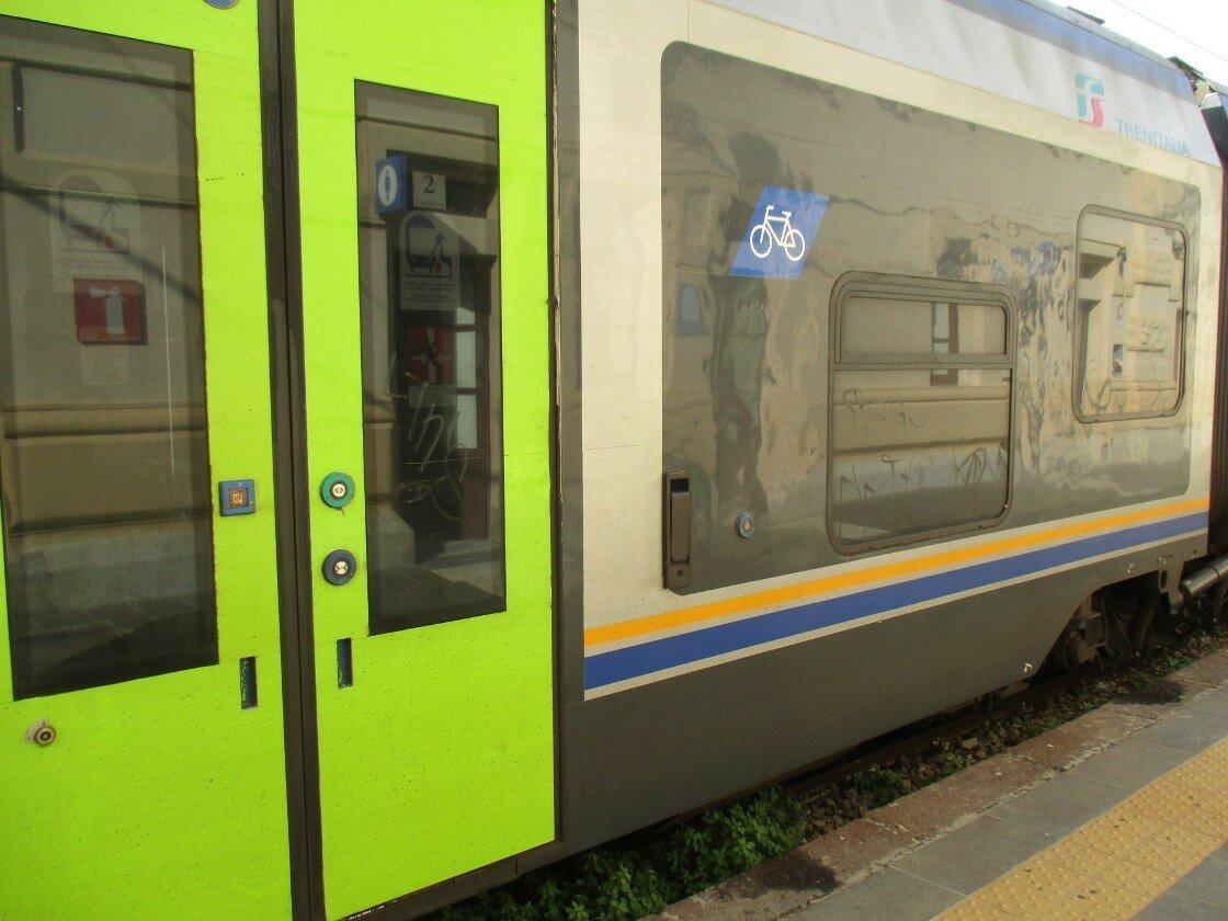 Agrigento-Palermo Train