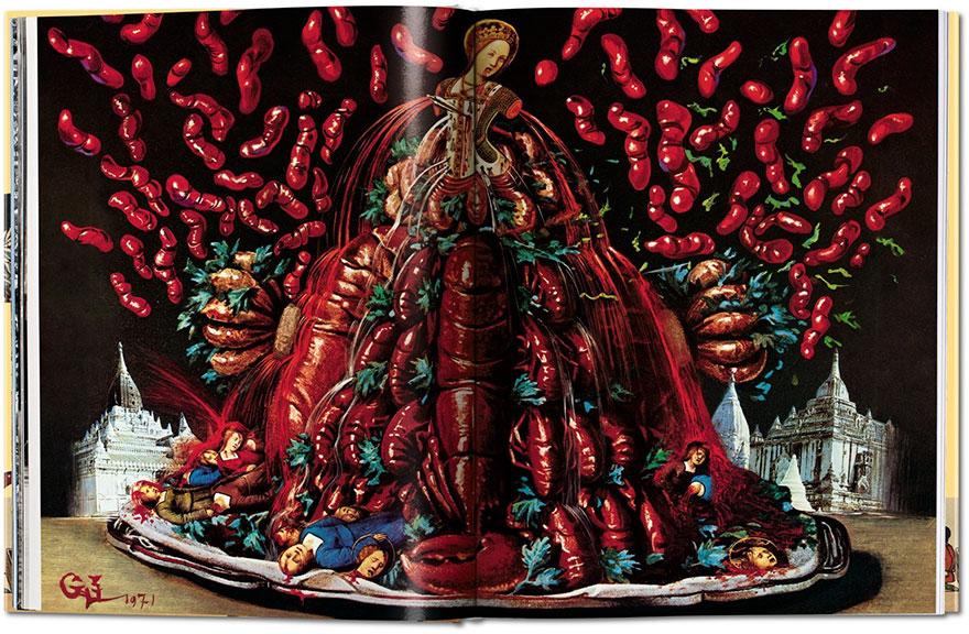 Поваренную книгу Сальвадора Дали с недетскими иллюстрациями переиздадут впервые за 40 лет