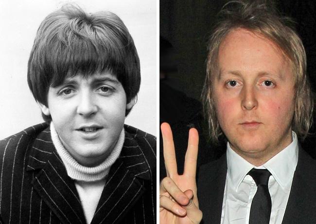 Пол Маккартни — 38 лет, Джеймс Маккартни — 35 лет.