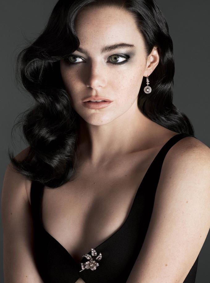 Эмма Стоун на обложке Vogue