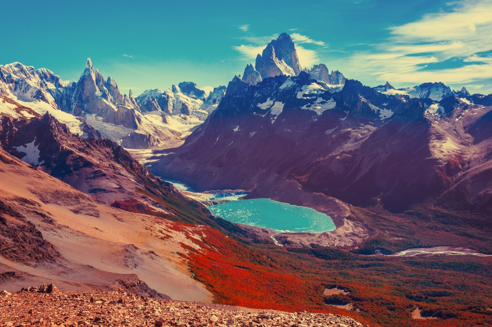 © Serjio74b/depositphotos  30% территории парка покрыто льдами, поэтому его еще называют парк