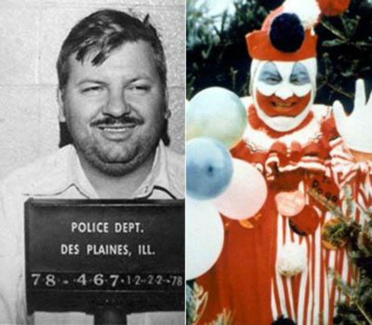 «Убийца-клоун» был признан виновным в убийстве 33 юношей и мальчиков. Один из самых жестоких убийц б