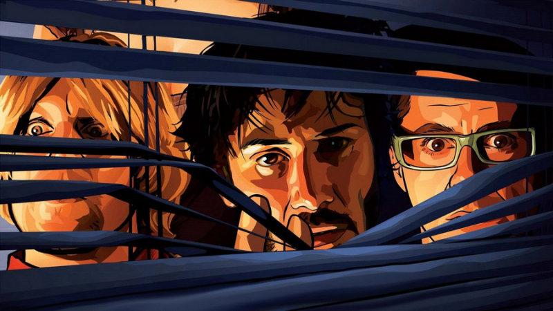«Помутнение» – второй анимационно-игровой полнометражный фильм Ричарда Линклейтера (первый – фил