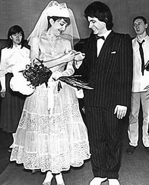 21. Надежда Бабкина (певица) и Владимир Заседателев, 1974 год