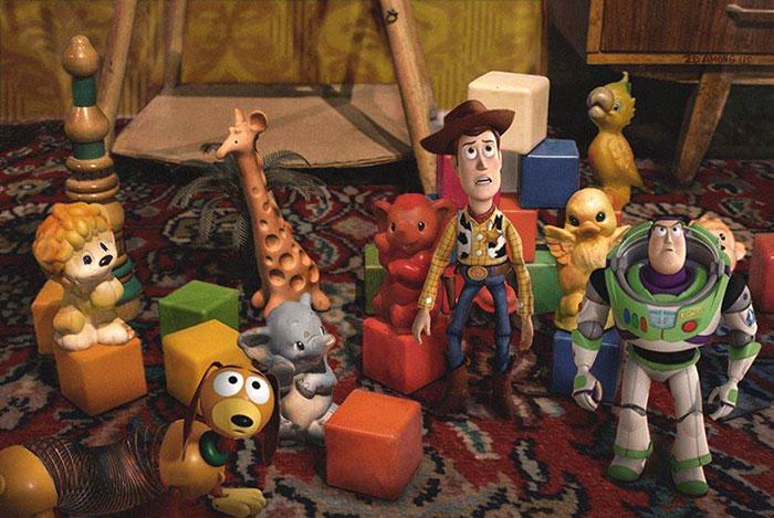 «История игрушек».