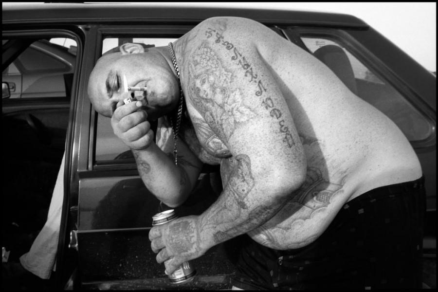 Фотограф провел несколько дней бок о бок с уголовниками, наркоманами и прочими «потерянными людьми».