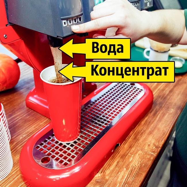 © Sonyachny/depositphotos.com  Многие замечали, что газированные напитки втомже McDonald's п