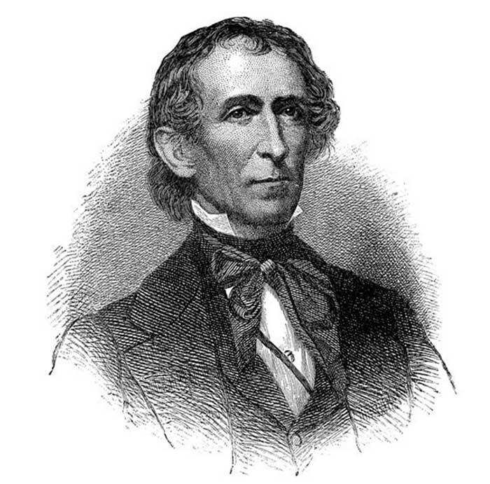 Джон Тайлер был 10-м президентом США. Он родился в XVIII веке. Сейчас еще живы двое его внуков У Джо