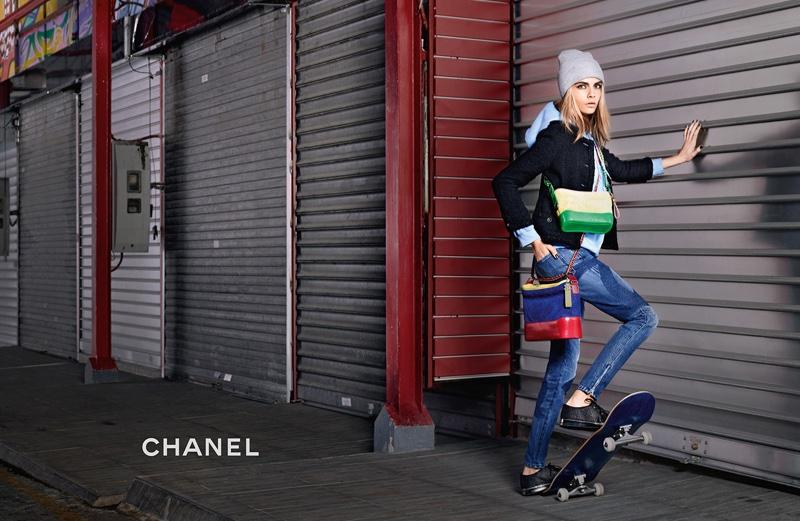 Кара Делевинь для Chanel (3 фото)