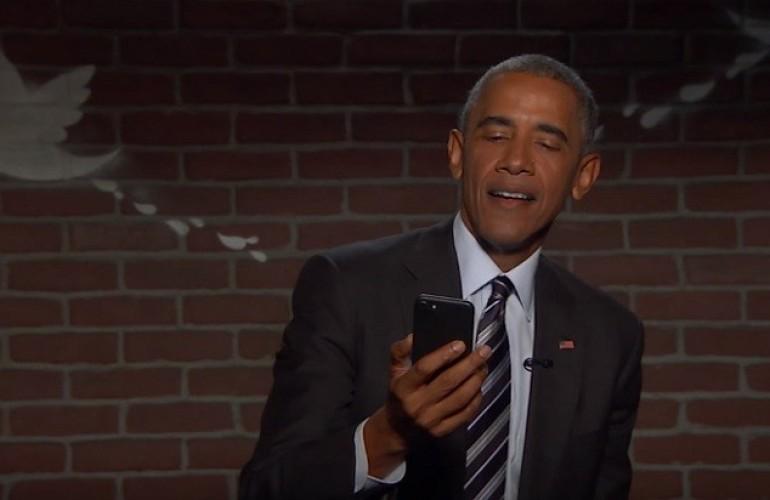 Обама прочел злобные твиты осебе ипотроллил Трампа