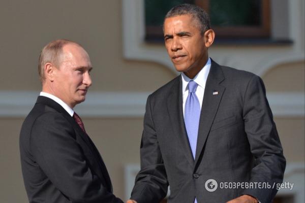 Обама призвал В. Путина выполнить «Минск-2» до20января