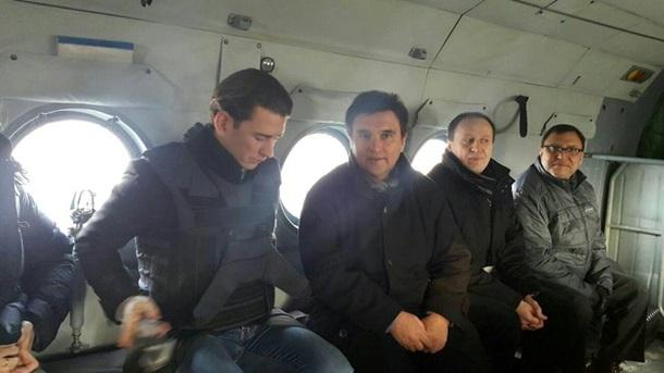 Климкин иновый руководитель ОБСЕ посетят Донбасс иобсудят развертывание вооруженной миссии