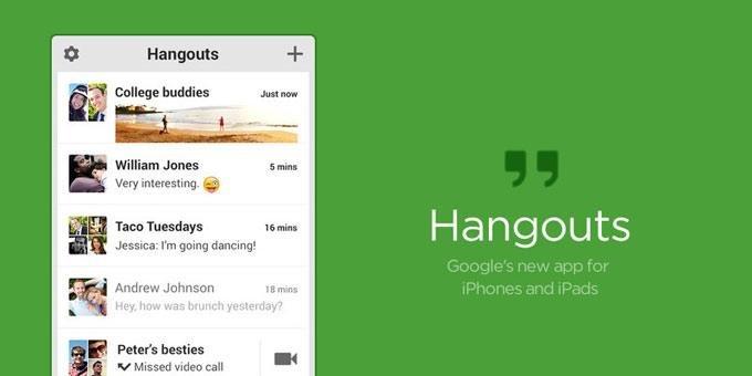 С22мая приложение Hangouts потеряет функцию SMS-сообщений