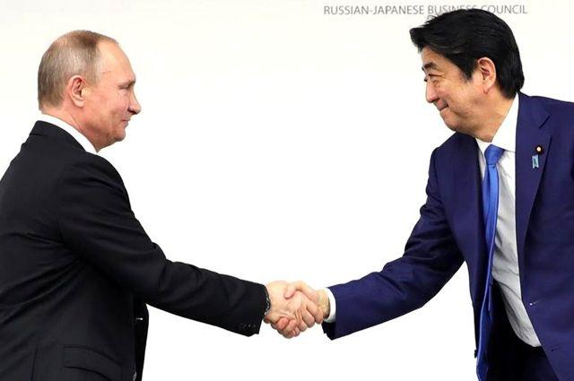 Путин объявил 2018 перекрестным Годом Российской Федерации иЯпонии