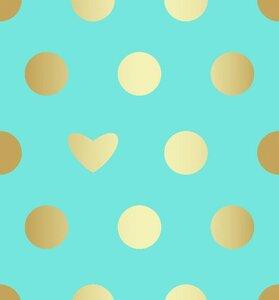 Кулирка с лайкрой - с золотым напылением - варак! (Голубой фон) 180 см, 180гр, пенье. Цена 510,00 руб/м