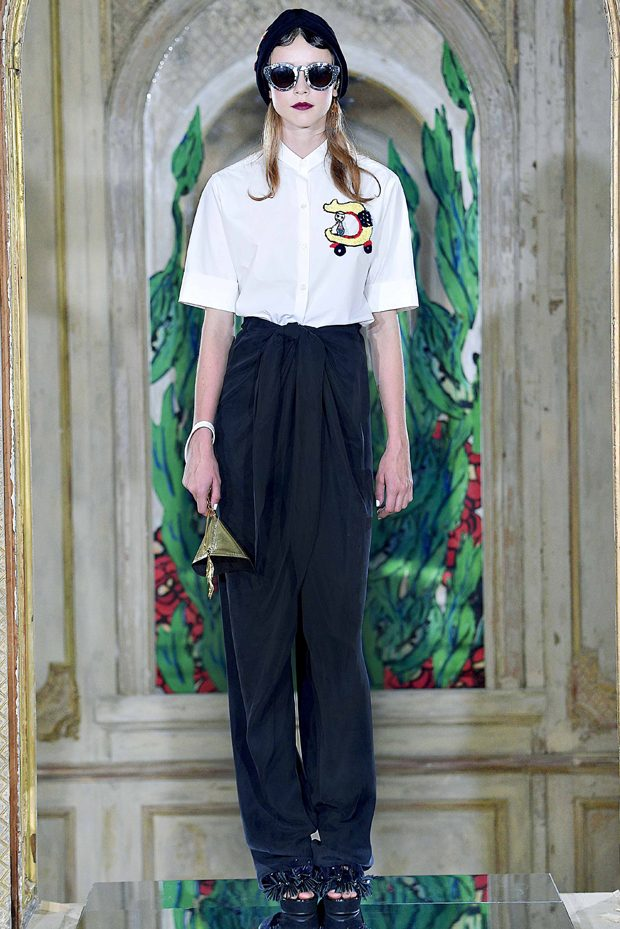 #PFW: Tsumori Chisato Spring Summer 2017 Collection