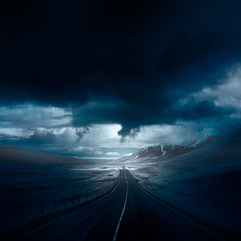 Iceland Infrared: Stark Photographs of Icelandic Landscapes by Andy Lee