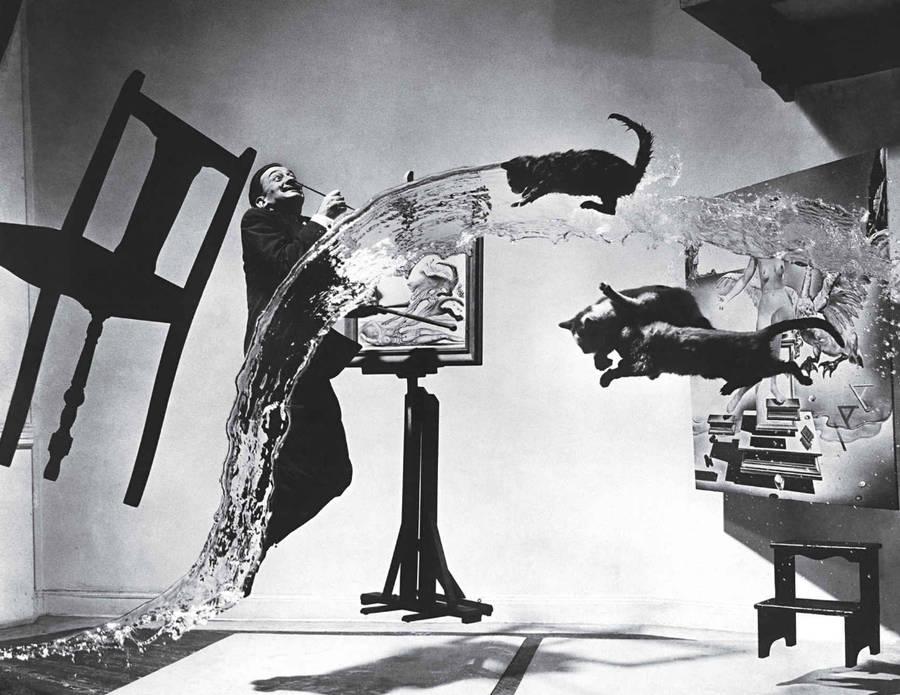 Dali Atomicus / Philippe Halsman / 1949