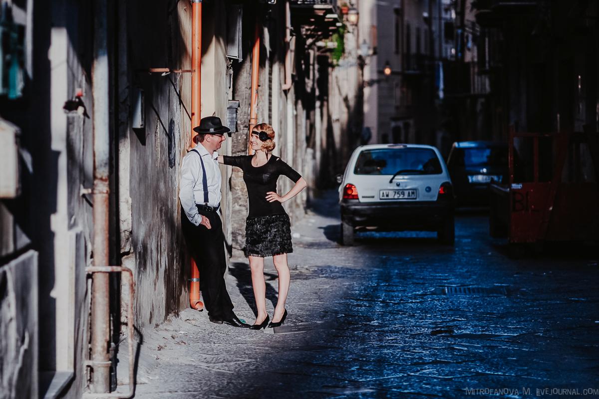 Съемка в Палермо