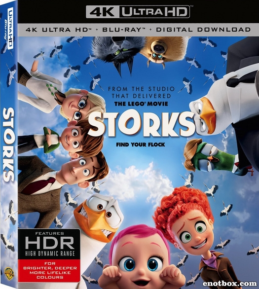 Аисты / Storks (2016/BD-Remux/BDRip/HDRip)