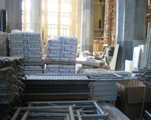 Внедрение строительных материалов