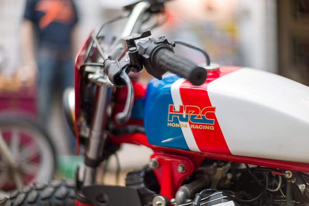 Kingston Customs: стрит-трекер Honda CX500E
