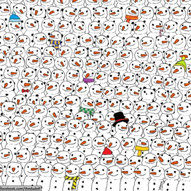 Where is the panda? - Find the hidden panda among these Death Metal singers