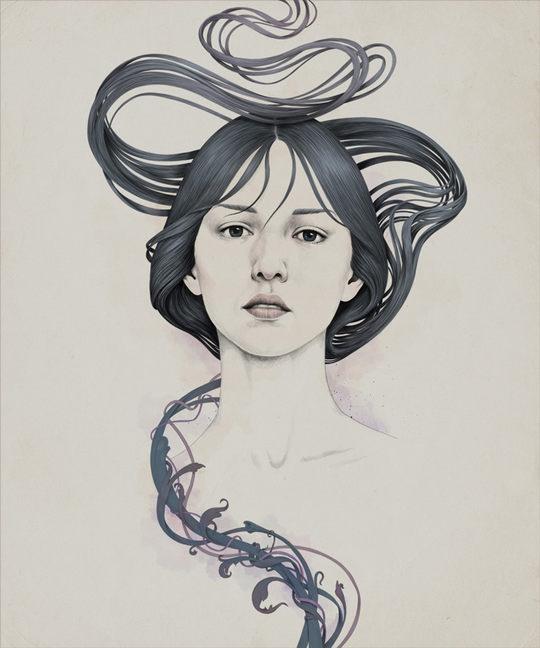 Portrait Illustrations by Diego Fernandez