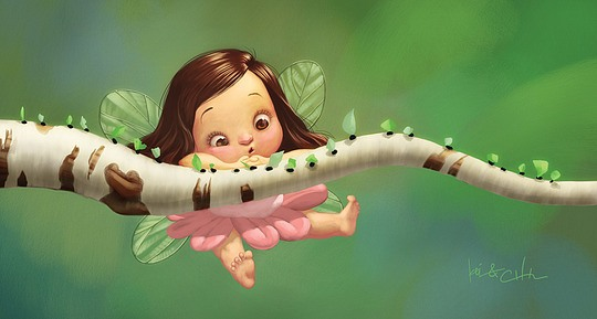 Cute Digital Illustrations by Bobby Chiu