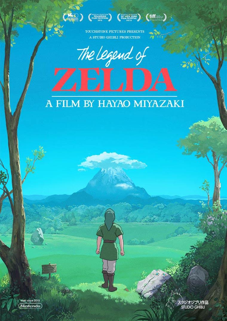 Zelda x Studio Ghibli - Si Hayao Miyazaki realisait un film The Legend of Zelda