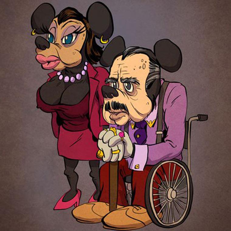 Si les personnages de cartoon vieillissaient comme de vrais acteurs