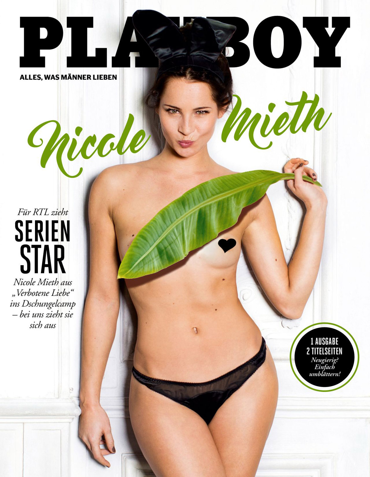 Nicole Mieth - Playboy Germany february 2017